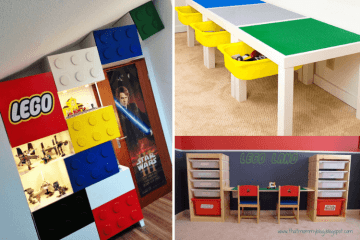 LEGO storage ideas ikea hacks