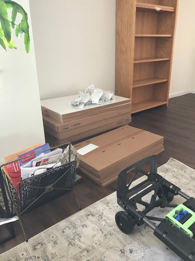 Regaining Storage With End To End Alcove Shelving Ikea Hackers