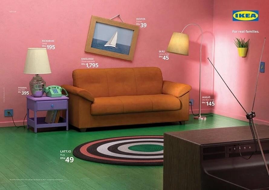 The Simpsons Living Room - IKEA