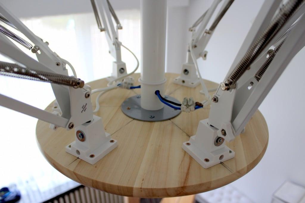 Tertial lamp arrangement