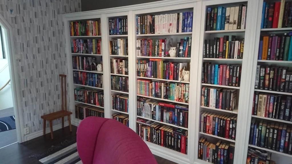 IKEA HEMNES built-in bookcase