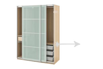 IKEA Pax wardrobe problem