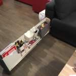 Ikea Sofa With Genius Armrest Storage Ikea Hackers