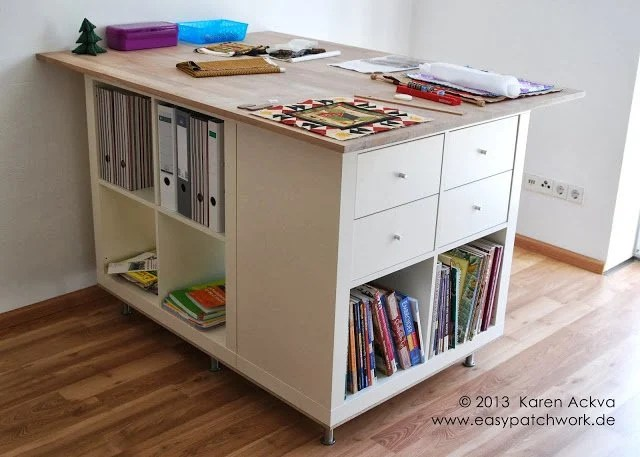 14 Fresh Ideas To Plan And Organize Your Craft Room Ikea Hackers