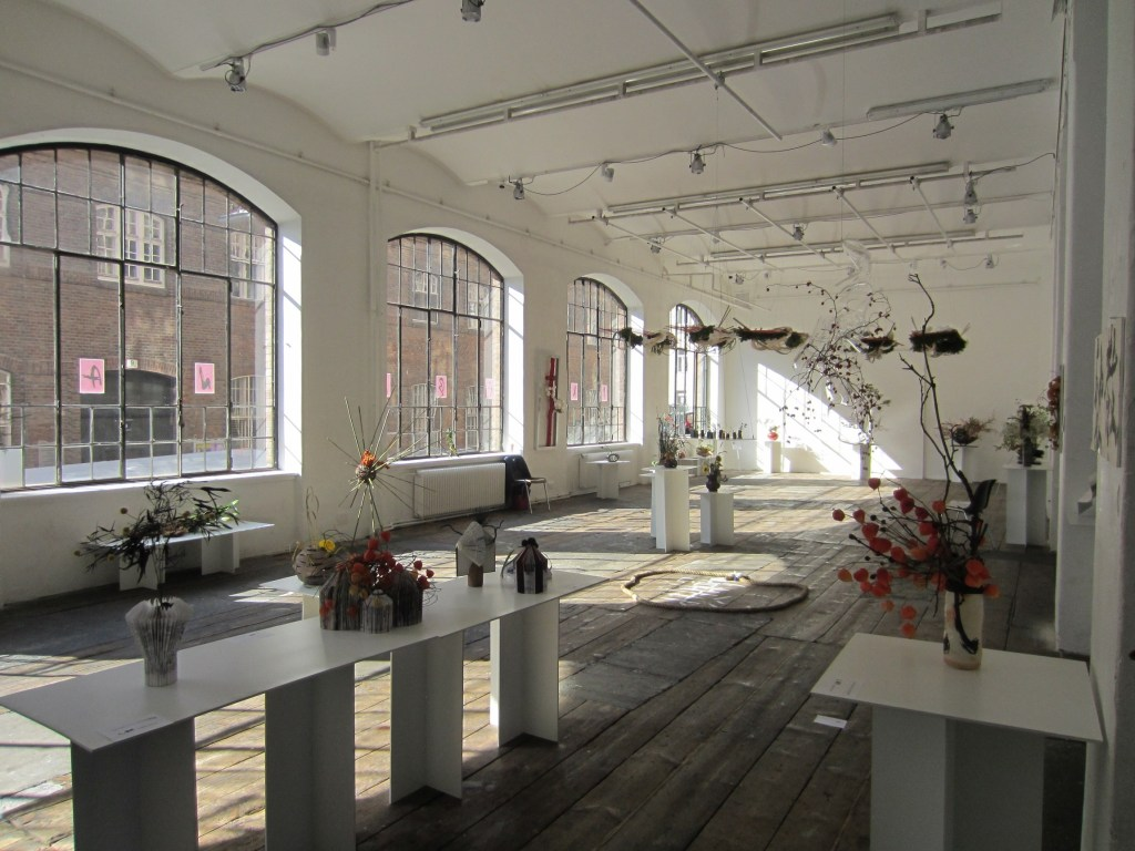 Ikebana-International Vienna Ausstellung im WUK.