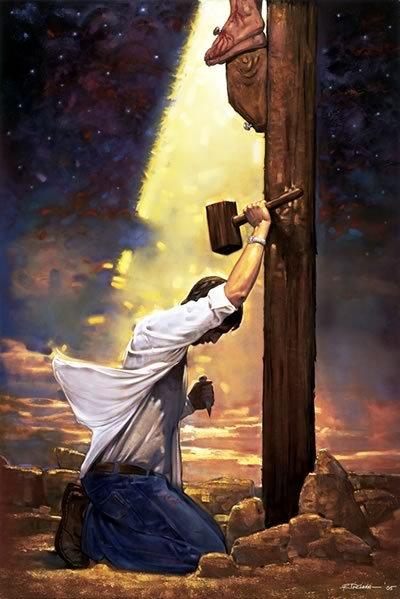 انسان چه باید بکند تا بوسیلۀ خدا بخشیده شود و از گناه نجات یابد؟