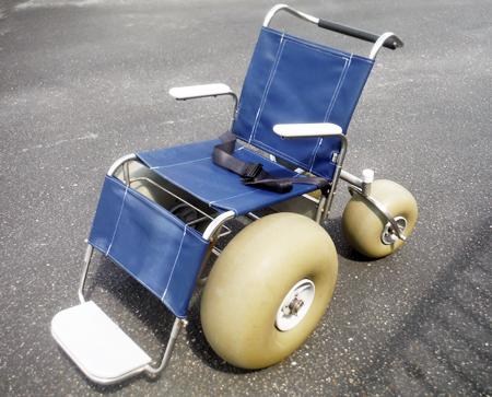 Beach Equipment - beach-wheelchair-rental-Ikes-Beach-Service