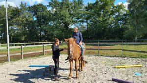 CREF Methode met paard