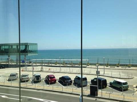 日立駅から見える風景