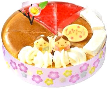 イオンひな祭りケーキセット07