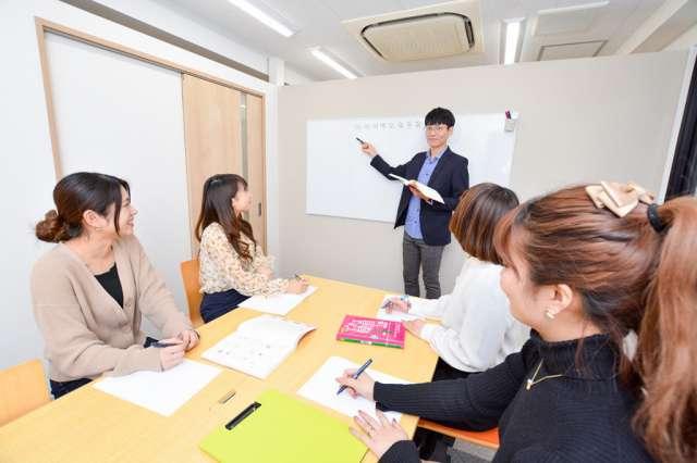韓国語教室kvillage授業風景