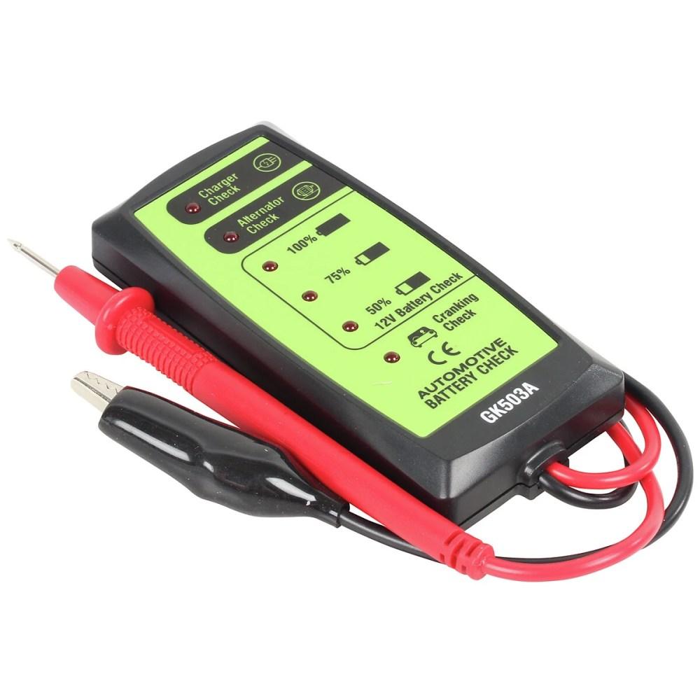 medium resolution of battery charging tester 12v all010