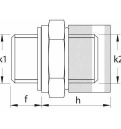 oil drain plug m22x1 5 lb t7 short femco h9022215l  [ 1000 x 1000 Pixel ]