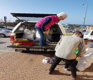 Addo community receiving donations