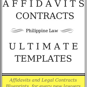 Affidavits And Contracts Word Book Plus Notary Public Petition And