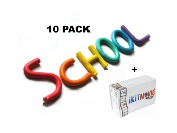 10 Pack School - 10 KIT PACK
