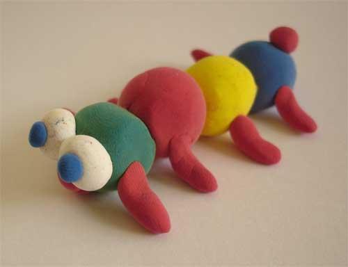 como hacer plastilina play-doh