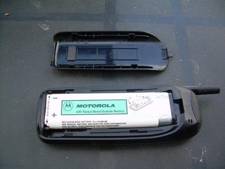 bateria de un movil motorola