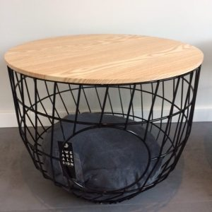 51DN Wire Cat Table zwart