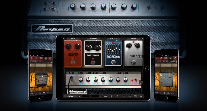 IK Multimedia's new Ampeg Collection 2 adds more iconic Ampeg amps