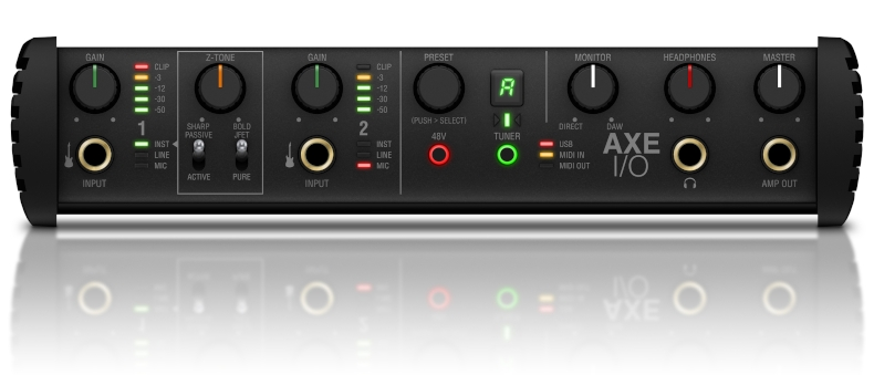 AXE I/O - Front panel - Image 2