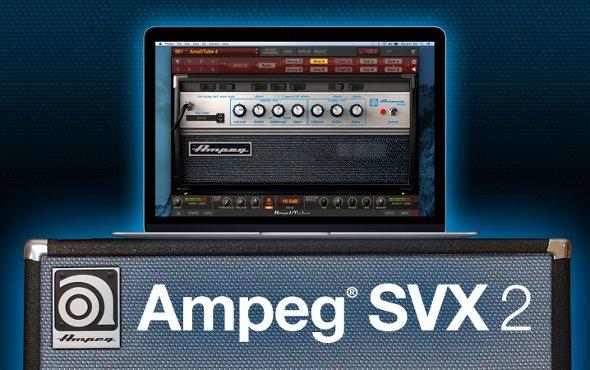 Ampeg SVX 2 for AmpliTube