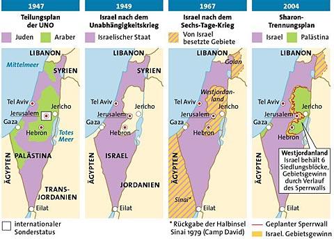 Bildergebnis für israel grenzen 1967
