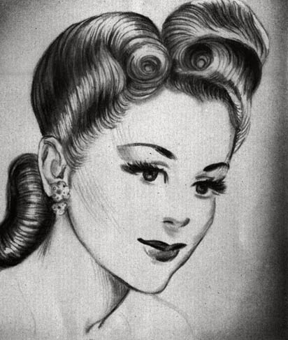 1940s hairstyles long hair