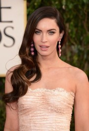 side-swept hairstyles of 2014