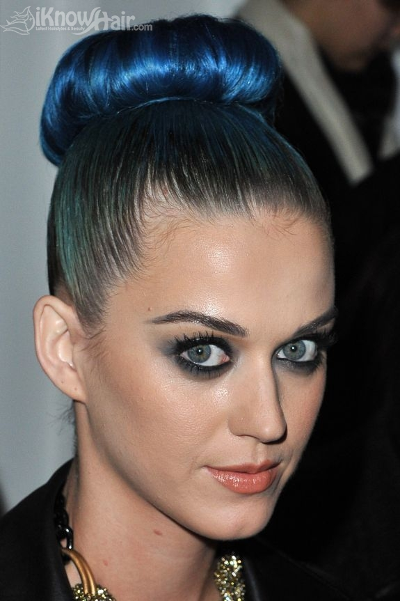Blue Highlights Hairstyles Blue Highlights For Hair