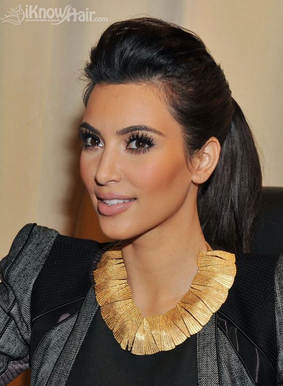 Kim Kardashian Hair  Kim Kardashian Hairstyles  Blonde  Extensions