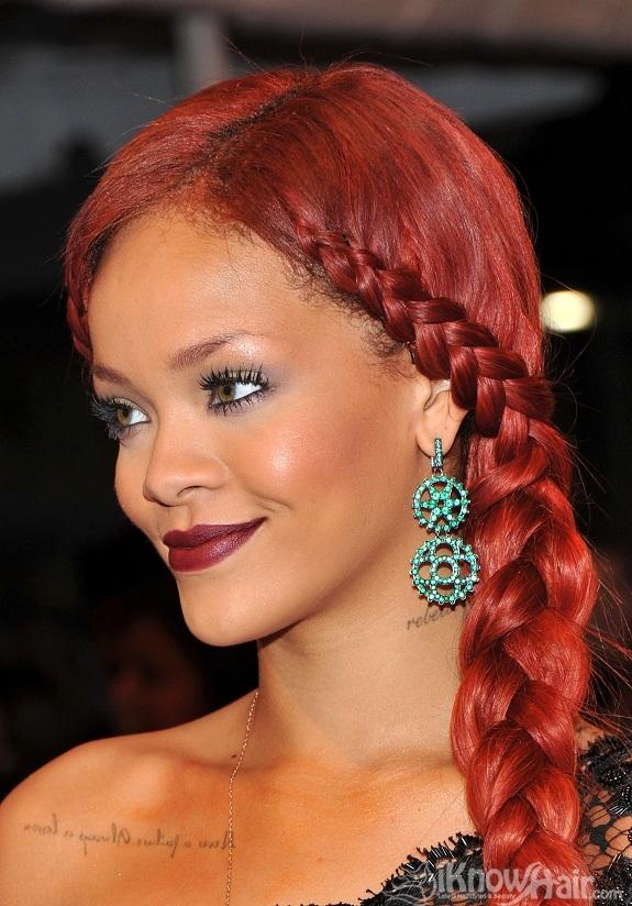 Rihanna  Rihanna Red Hair  Rihanna Short Hair Styles  Hairstyles 2018  Trendy Haircuts and