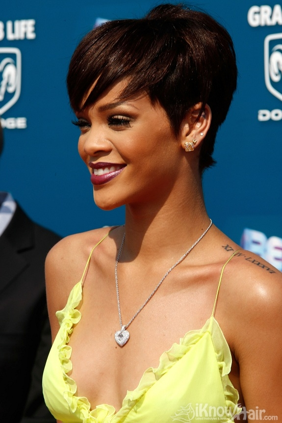 Rihanna  Rihanna Red Hair  Rihanna Short Hair Styles  Hairstyles 2018  Trendy Haircuts and