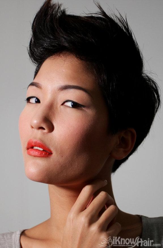 Short And Medium Hair Styles For Asian Women Medium