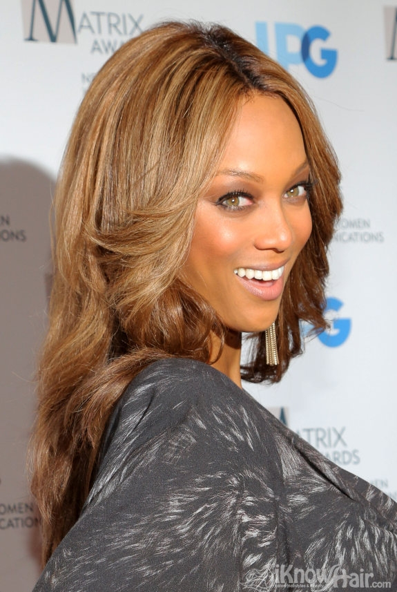 Tyra Banks Hair Tyra Banks Hairstyles Celebrity Hairstyles