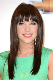 long hair with bangs hairstyles