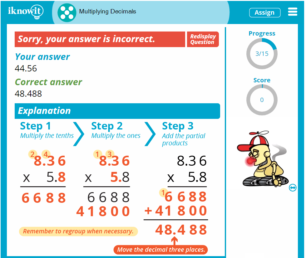 hight resolution of Math Game: Multiplying Decimals
