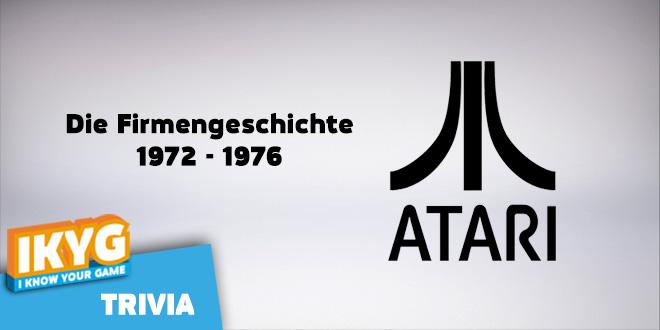 Atari Firmengeschichte Teil 1