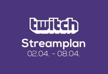 Streamplan der Woche – 2. bis 8. April 2018