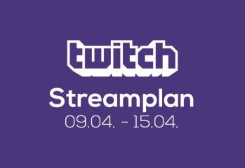 Streamplan der Woche – 9. bis 15. April 2018