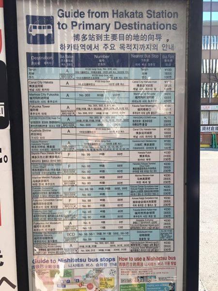 福岡人性化公車站牌設計