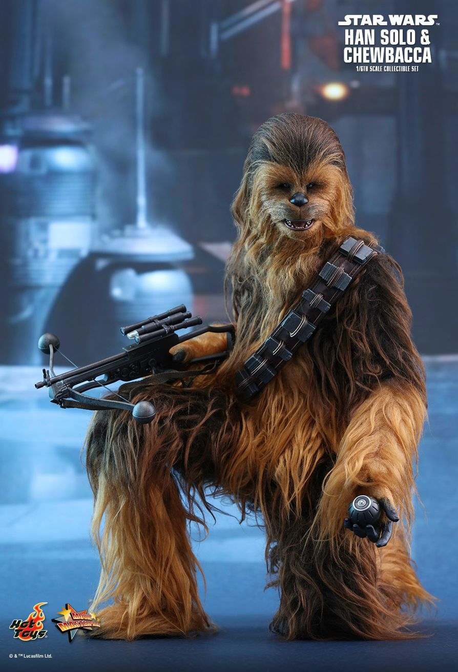 Star Wars  Han Solo  Chewbacca Episode VII The Force