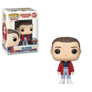 Stranger Things – Eleven with Slicker US Exclusive Pop! Vinyl [RS]