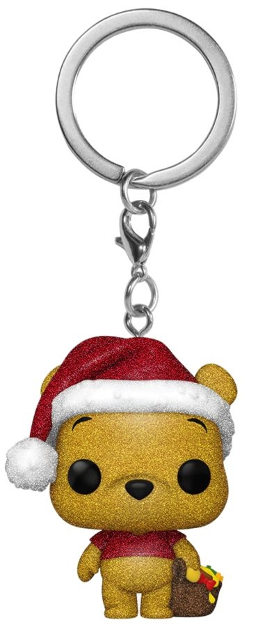 POP KEYCHAIN WINNIE THE POOH – POOH DGLHOLIDAY VF KEYCHAIN RS