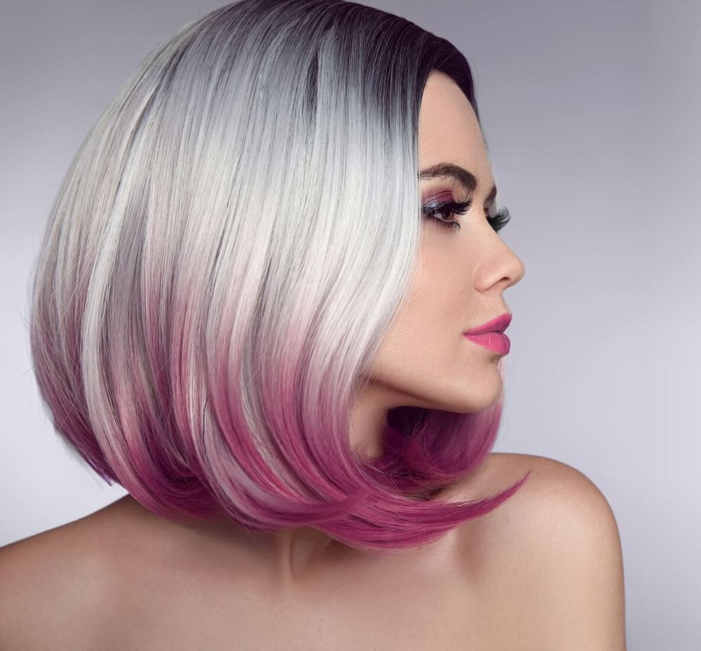 Edgy Short Hair With Curled Ends