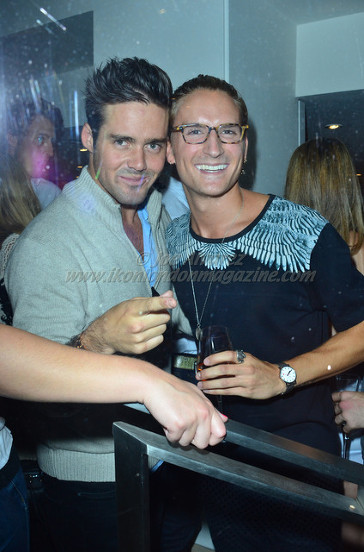 Spencer Matthews and Oliver Proudlock at the Oliver Proudlock & Oliver Sweeney Shoe Launch Party © Joe Alvarez