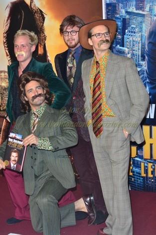 Spencer Matthews, Jaime Laing Francis Boulle & Oliver Proudlock Anchorman 2 London Premiere © Joe Alvarez