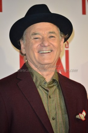 Bill Murray at The Monument Men London Premiere © Joe Alvarez