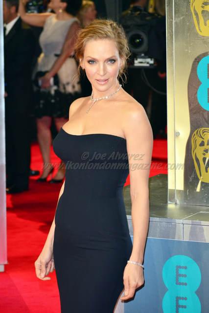 Uma Thurman at EE British Academy Film Awards BAFTA 2014 © Joe Alvarez.jpg