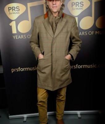 Sir Bob Geldof at the PRS for Music's centenary